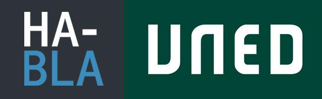 Logo método habla y UNED